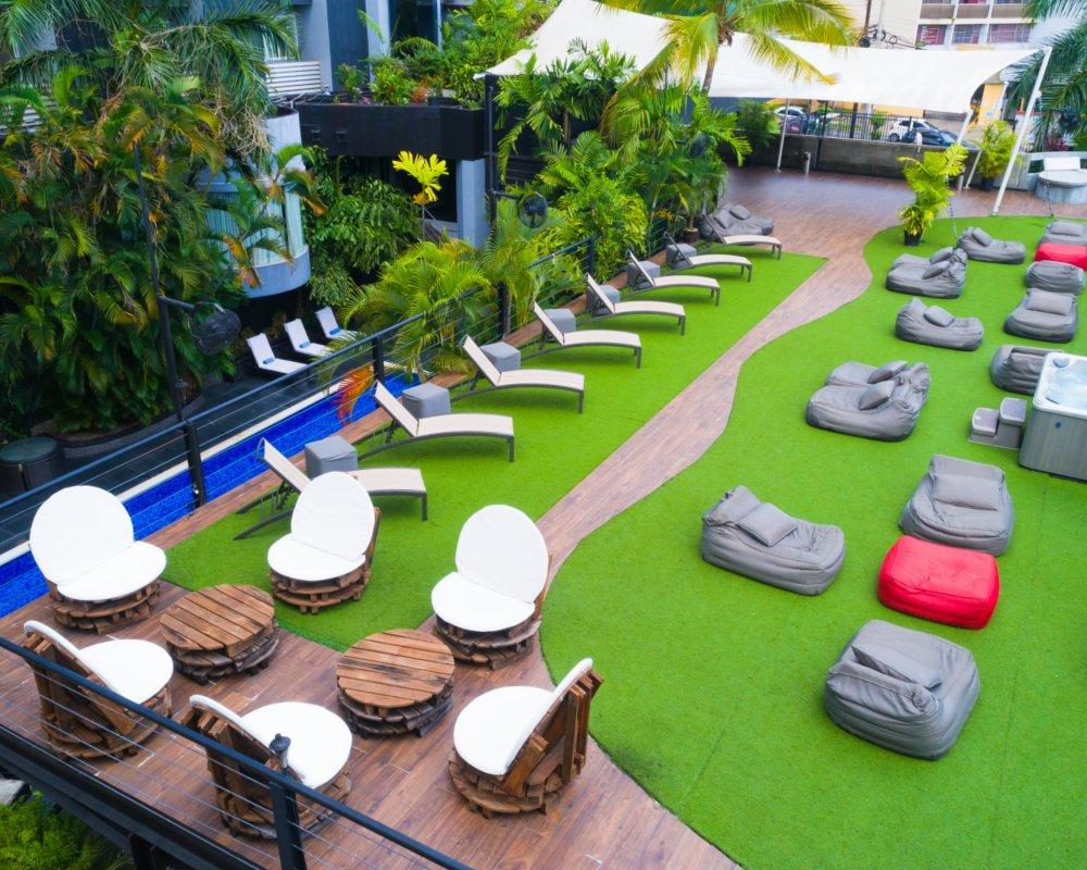 Rooftop Terrace Riande Granada Panamá